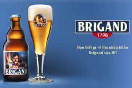 Bạn biết gì về bia nhập khẩu Brigand của Bỉ