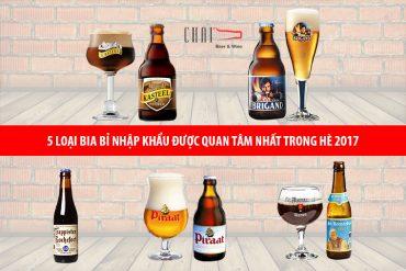 Tổng hợp 5 loại Bia Bỉ nhập khẩu được quan tâm nhất trong hè 2017